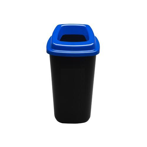 Rūšiavimo šiukšliadėžė Mini Ecobin Mėlynu dangčiu 28 ltr