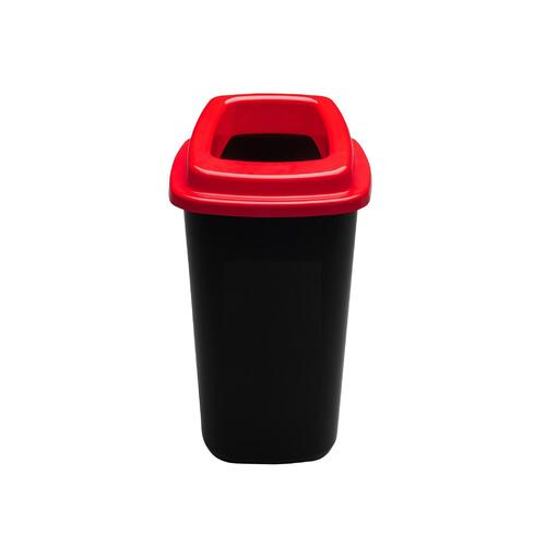 Rūšiavimo šiukšliadėžė Mini Ecobin Raudonu dangčiu 28 ltr