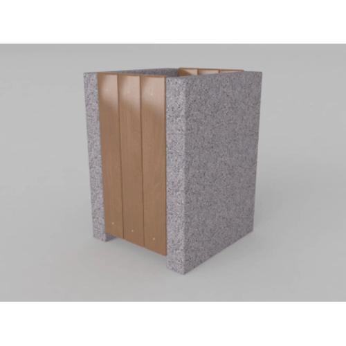 Betoninė šiukšlių dėžė BST04124
