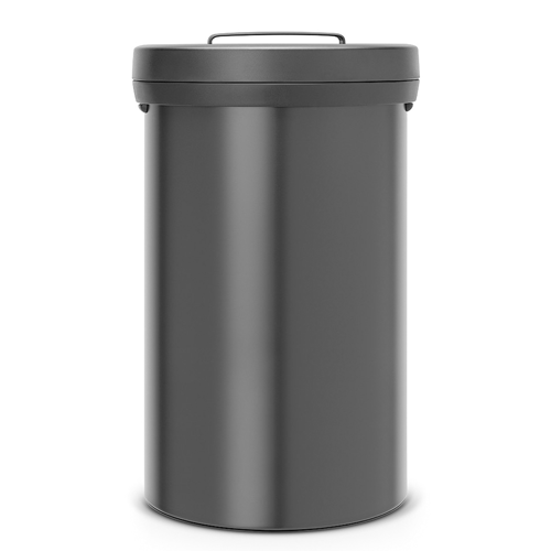 Juoda šiukšlių dėžė Brabantia Big Bin 60 litrų 402029