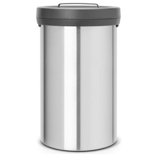 Nerūdijančio plieno šiukšlių dėžė Brabantia Big Bin 60 litrų 402043