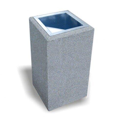 Didelio aukščio betoninė šiukšlių dėžė 146A