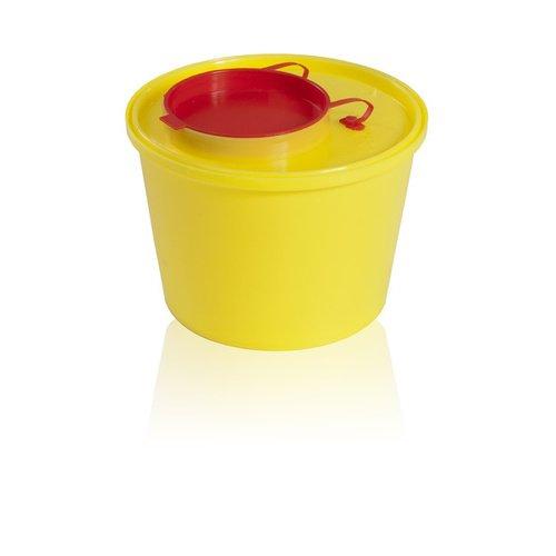 Medicininė šiukšlių dėžė 1 litro talpos 71-88