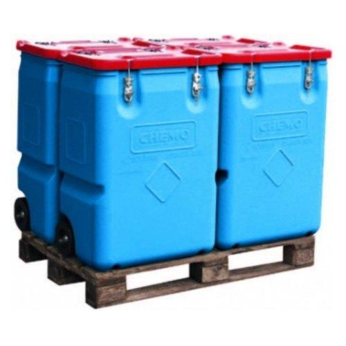 Mobilus pavojingų atliekų konteineris 73-65, 250 litrų talpos