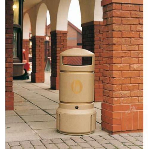Šiukšlių dėžė Mini Plaza smėlio spalvos