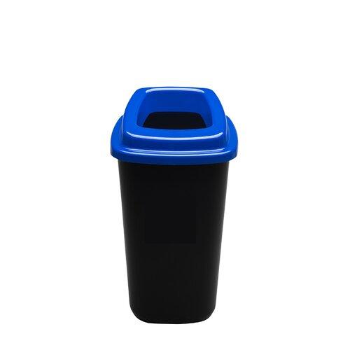 Šiukšlių dėžė rūšiavimui EcoBin Big Mėlyna spalva 90 ltr